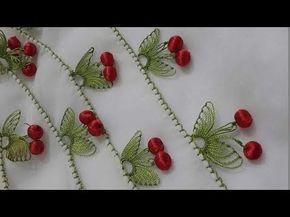 *** cicekli iğne oyaları *** (DIY) *** iğne oyası çiçek modelleri*** - YouTube
