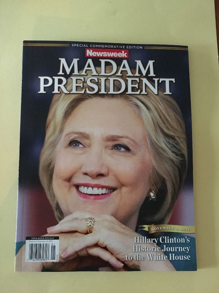Newsweek Madam President Issue