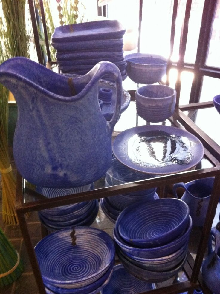 iconic McCarty pottery made of Mississippi mud