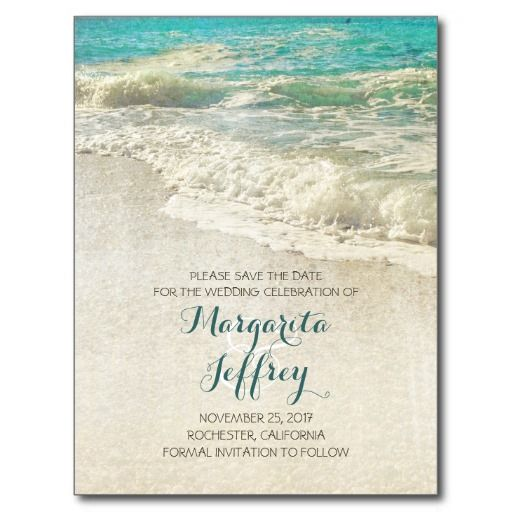 155 best Beach Save the Date Cards images on Pinterest