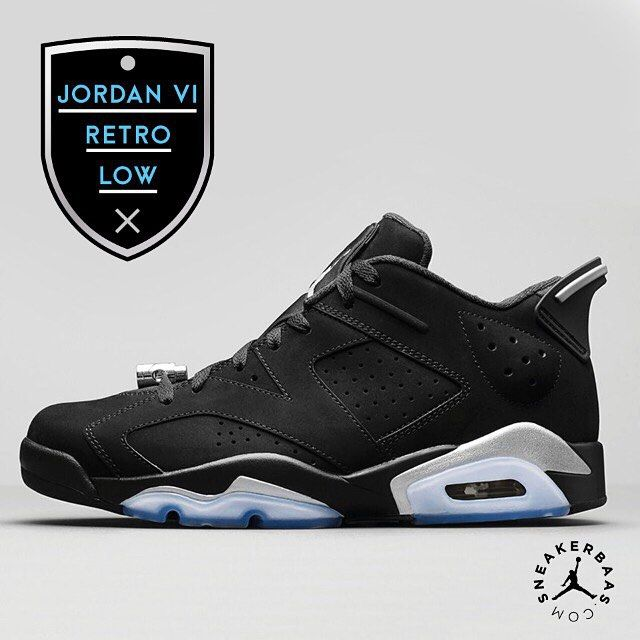 #jumpman #airjordan #retrolow #sneakerbaas #baasbovenbaas  Air Jordan 6 Retro Low - With a icey blue outsole and a solid midsole Air Jordan prepares you for the rough and tough fall that's coming.  Now online available !
