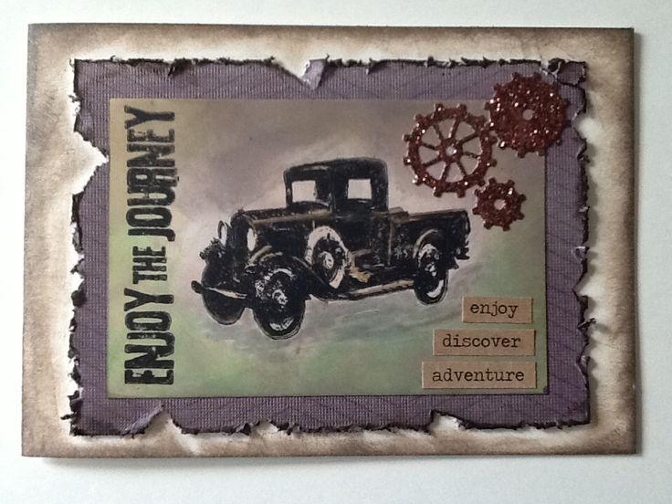 Enjoy the Journey masculine card