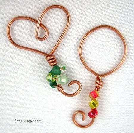 Enchanted Wire Bubble Blowing Wands - tutorial by Rena Klingenberg