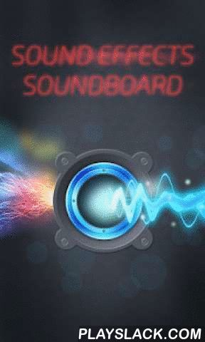 Sound Effects Soundboard  Android App - playslack.com ,  Load up your Android with sound effects ringtones! Spice up a boring moment with Sound Effects Soundboard app, so download free sounds now!If you want cool sounds that are used in film making, our science fiction sound effects are perfect for you. Set, for example, police and gun sound effects as ringtones for Android phone or as tones for text messages. Also, you can set melodies as an alarm, timer or widget. You can assign a sound…