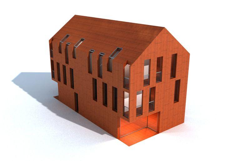 Edificio plurifamiliar, Charleston (EEUU) / AMSA Arquitectura