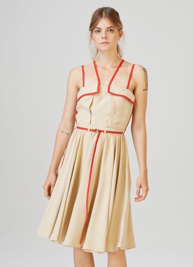 LELLE - multi strap dress