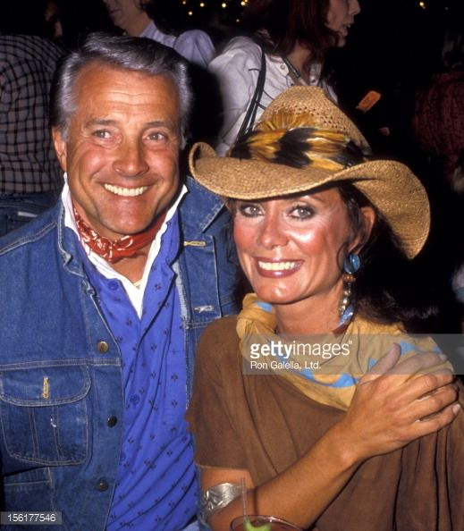 Lyle Waggoner and wife Sharon,1987.