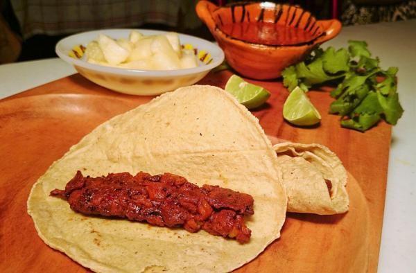 Receita de Tacos de peixe com molho picante