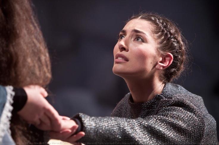 Scene Photography, Caterina Murino act at Carmina Burana