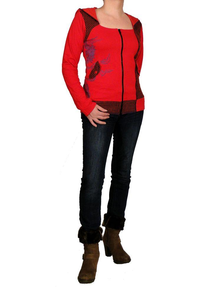 Veste ethnique chic de la marque Swamee http://www.echoppe-du-monde.com/veste-ethnique-kiri-rouge-swamee-c2x13825386 Rendez-vous sur notre e-boutique exotique pour découvrir notre collection de vêtements ethniques chics et bien plus encore.