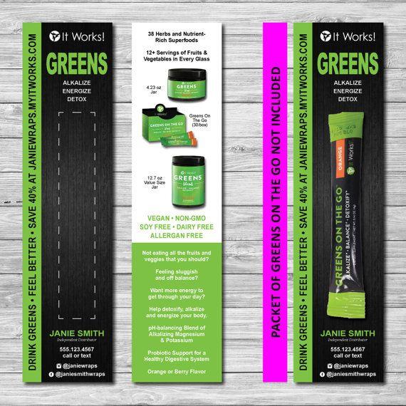 It Works Global NEW Greens Sample Card 2x8 by kellibdesignstudio