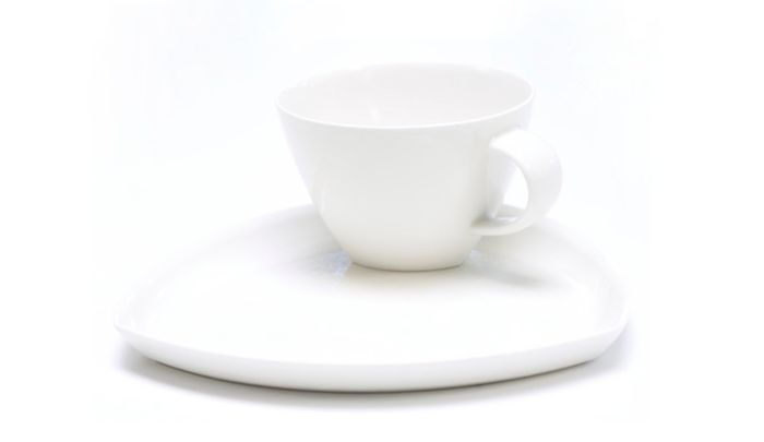 Amfora Tee Cup With The Saucer