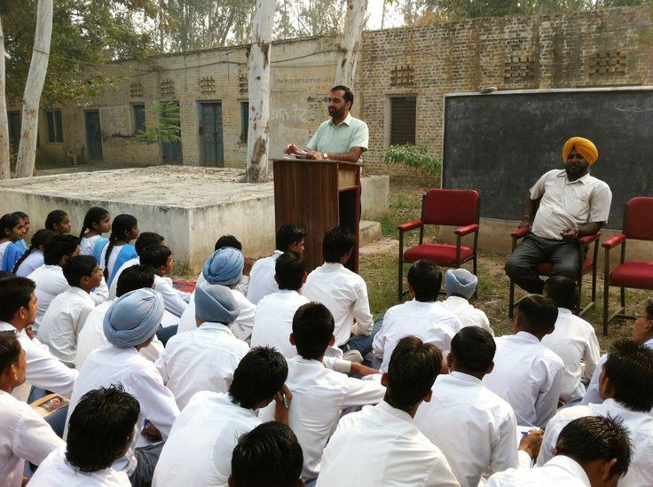 dr. narinder kumar, punjabi lect., gsss shermajra, patiala at gsss bhagwanpur jattan