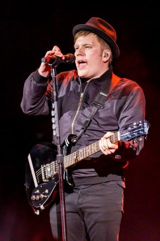 He's just so adorable. Patrick Stump of Fall Out Boy