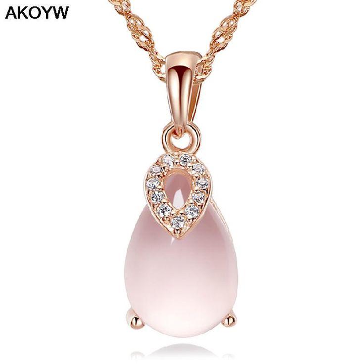 Plateado colgante afortunado día de CUARZO Cristal De Cuarzo Rosa Colgante de dinero femenino fábrica de joyas al por mayor de alta calidad(China (Mainland))