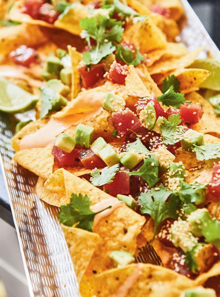 Recette de nachos façon poké de Ricardo