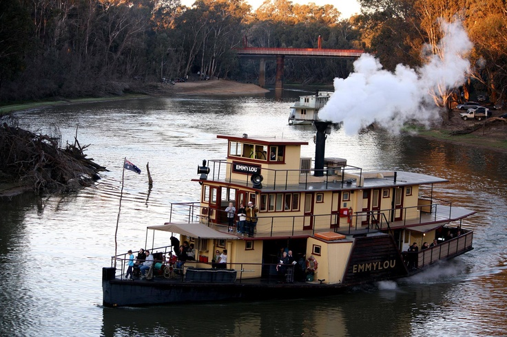 Echuca, Victoria I lived here a few years ago ... Lovely to sit by the river and enjoy the serenity.