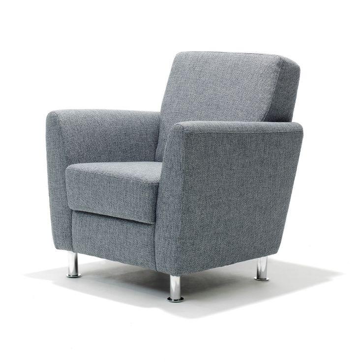 PACO, een super fauteuil voor een scherpe prijs! Deze fauteuil is in vele stoffen verkrijgbaar met poten van chroom! VANAF € 299,-