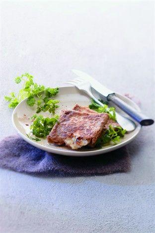 Pannequets au chèvre et aux abricots - Larousse Cuisine