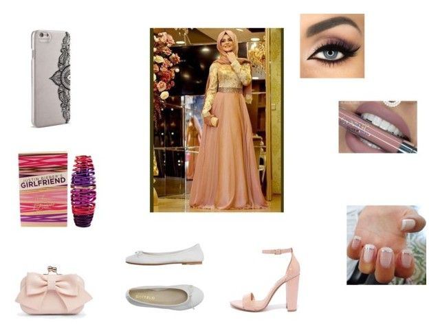 Pretty Prom by roxy-crushlings on Polyvore featuring DIENNEG, Steve Madden, Boohoo, Nanette Lepore, Justin Bieber and Anastasia Beverly Hills