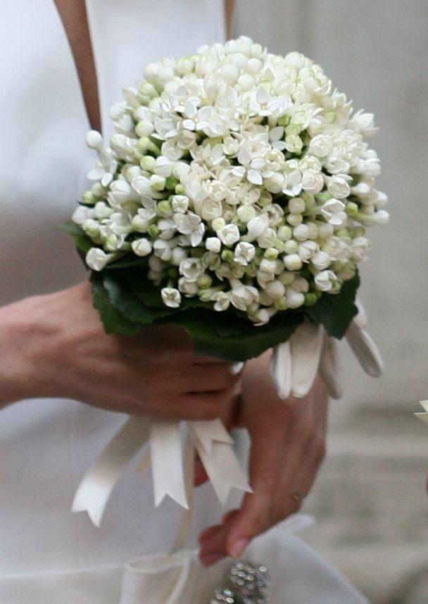 Bouvardia wedding bouquet