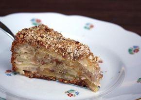 Recept s fotopostupom na skvelý šťavnatý jablkový koláč s minimom cesta.
