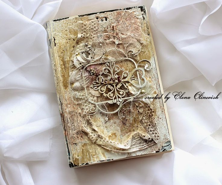 Altered Book Cover - 2Crafty Chipboard