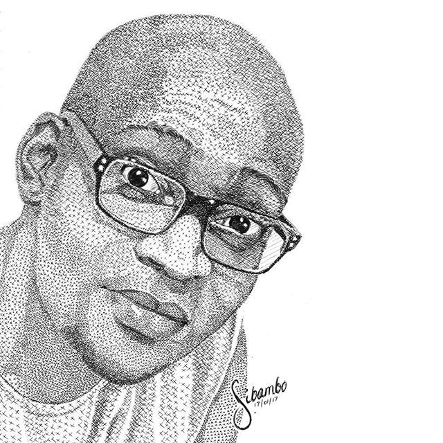 Congratulations to the 2nd #sibamboportraitsme winner @choppo_lebitso , in black pen. I promised on my birthday to draw the first 3 people to use the hashtag...and I went beyond and used a different technique again...One more entry pending. Enjoy!  #sibamboportraits  #masterpiece  #penart  #ballpointpen   #fanart  #drawing  #inkfeature  #artistsoftomorrow