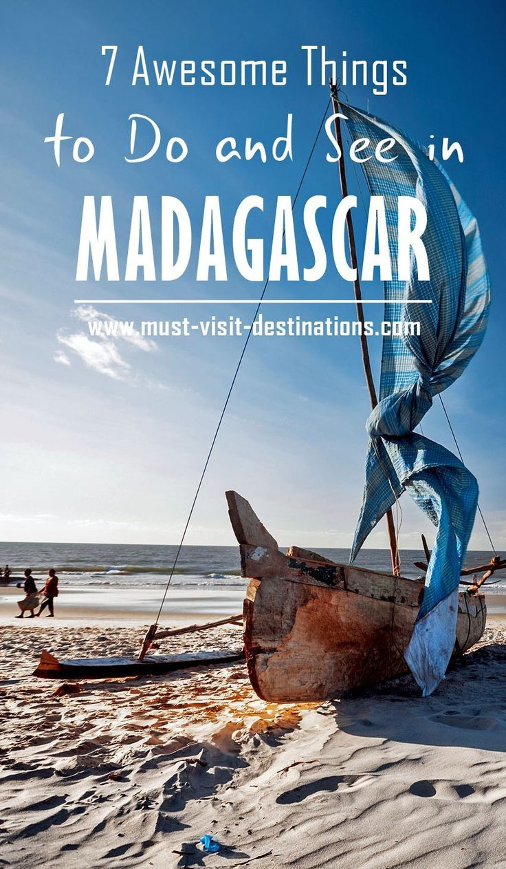 7 Awesome Things to Do and See if You Travel to Madagascar #madagascar #travel…
