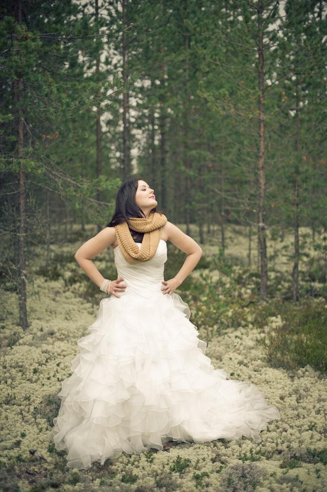Trash the dress, TTD. Jäähyväiset hääpuvulle.