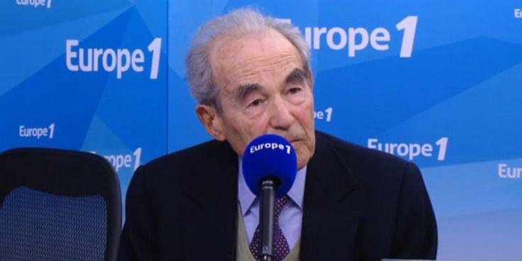 """Badinter et les réfugiés : """"pas un acte de générosité, une obligation - """"Quand la République a manqué au droit d'asile, elle s'est toujours déshonorée"""", a souligné Robert Badinter, samedi matin sur Europe 1. - 14 septembre 15"""