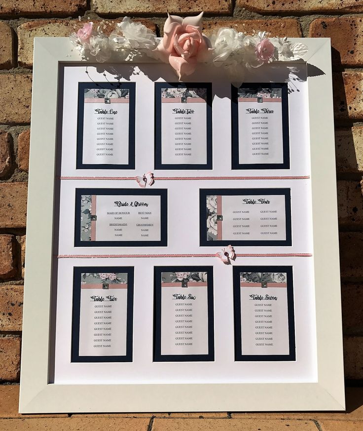 13 best Wedding Reception & Ceremony Signs - Handmade by Jules ...