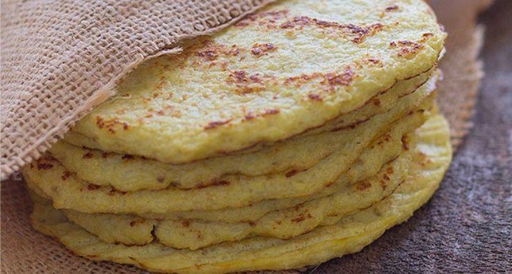Recept: Tortilla's gemaakt van bloemkool. Klinkt raar; niet?! Maar het is gezond EN heerlijk!! het proberen waard?