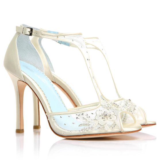 beaded weding shoes