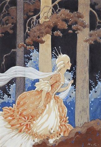 Princess in the Great Forest by Rudolf Koivu
