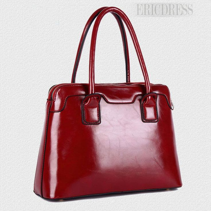 Real Leather Aristocratic Classic Handbags For Women   Handbags