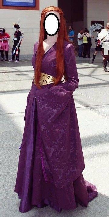 Game of Thrones Sansa Stark Dress womens cosplay costume HIGH QUALITY  WIG