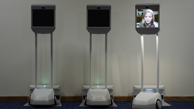 Life telepresent working vicariously through the Beam robot