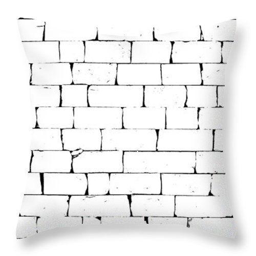 Cuscini - Disegno un muro di pietra tiro cuscino da Orazio Puccio