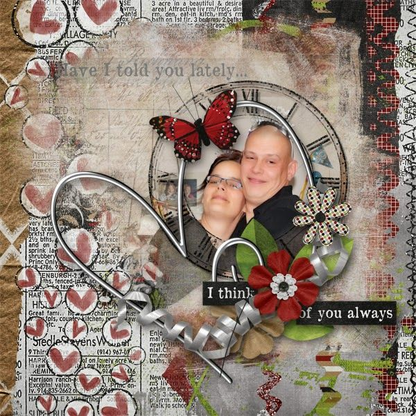 Scrapcollection Have I told you lately by CreatedByJill http://bit.ly/1zJkmxt Photo by kpmelly