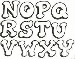 moldes de letras para imprimir - Buscar con Google