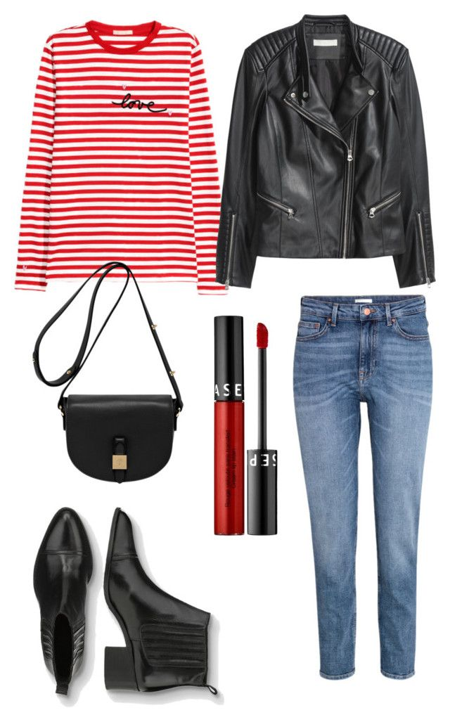"""""""Untitled #226"""" by stinasolheim on Polyvore featuring Sephora Collection, H&M and Mulberry"""
