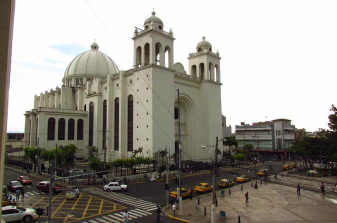 """San Salvador City Tour What are you waiting to take this half day tour and visit the main streets and avenues of the great San Salvador?This tour will take you to the main residential areas of the capital, the """"El Salvador del Mundo"""" (Savior of the World Square), Plaza Masferrer and some of the best hidden spots of the city. San Salvador is the most populated city in El Salvador and it is the country´s political, cultural, educational and financial center. Visit the Hi..."""