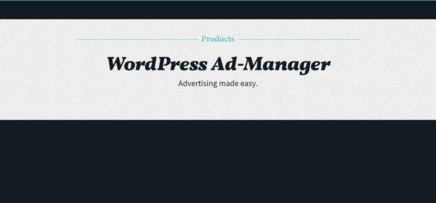 20 WordPress Plugins for Advertising Management