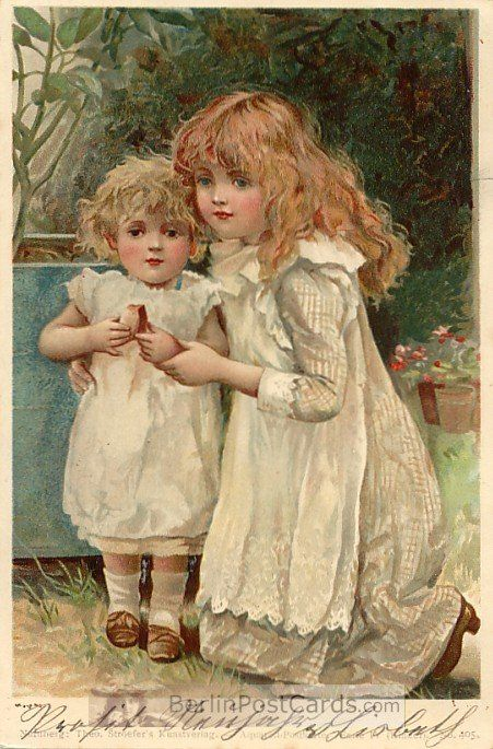 Postcard by Harriett Mary Bennett (English) early 1900's.