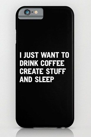 These iPhone cases that just ~get~ you:   25 Gifts For People Who Only Care About Coffee