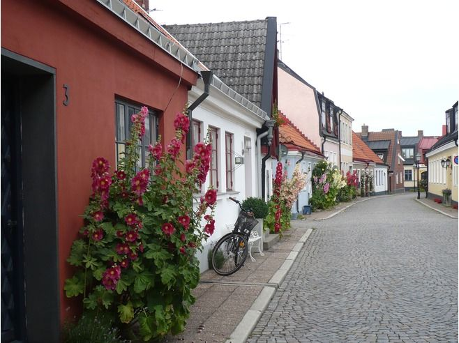 From Ystad, Sweden. We spent a few days there some years ago. Well worth the visit.