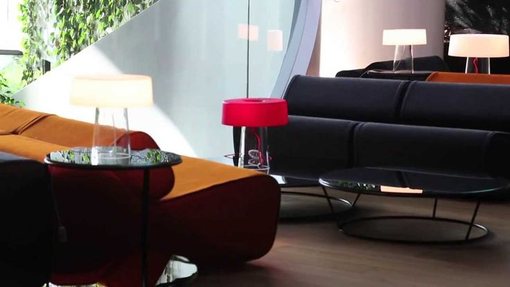 #Glam, design by Luc Ramael for Prandina, is the result of a reinterpretation of the typical table lamp. Two blown glass elements, without any metal connection, characterize its explicit and elegant shape: a cylindrical diffuser with a flattened closed top and a truncated cone base that supports it and holds the hidden bulb support. www.prandina.it