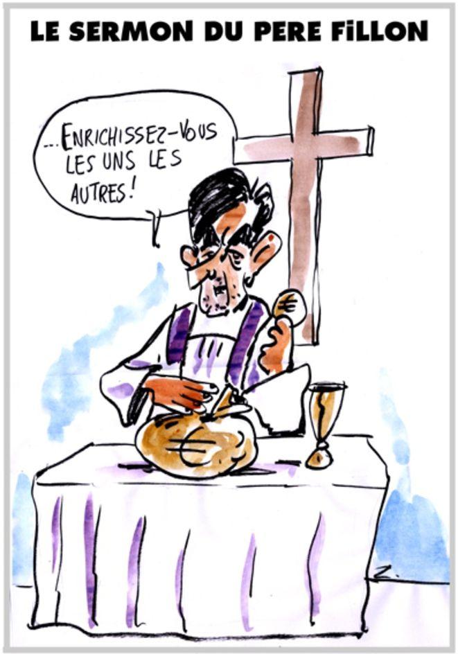 Mediapart révèle que François Fillon, quand il était sénateur, a empoché une partie des crédits réservés à la rémunération d'assistants, grâce à un système de commissions occultes.