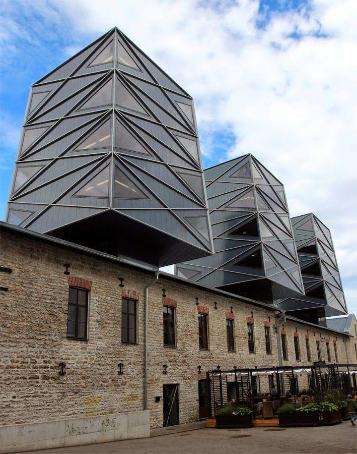 Dark Roasted Blend: Modernist Tallinn Architecture